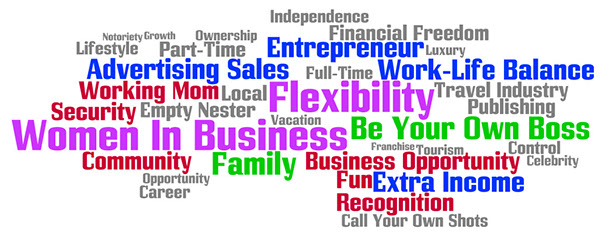 Flexibility, Family, Security, Working Mom, Part-Time, Extra Income, Fun, Local, Career, Advertising Sales, Community, Women In Business